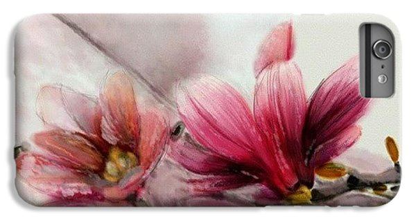 Magnolien .... IPhone 6s Plus Case by Jacqueline Schreiber