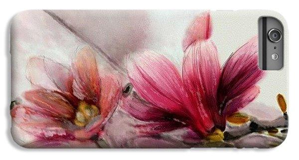 Magnolien .... IPhone 6s Plus Case by Jacqueline Schreiber