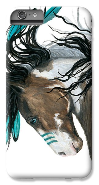 Majestic Turquoise Horse IPhone 6s Plus Case by AmyLyn Bihrle