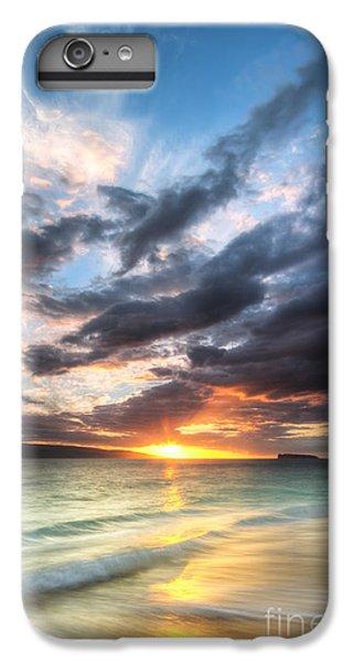 Ocean Sunset iPhone 6s Plus Case - Makena Beach Maui Hawaii Sunset by Dustin K Ryan