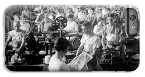 Making Money At The Bureau Of Printing And Engraving - Washington Dc - C 1916 IPhone 6s Plus Case