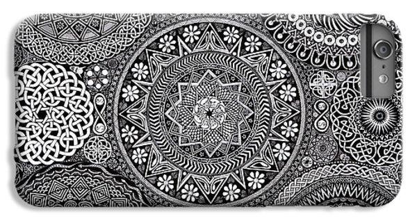 Mushroom iPhone 6s Plus Case - Mandala Bouquet by Matthew Ridgway