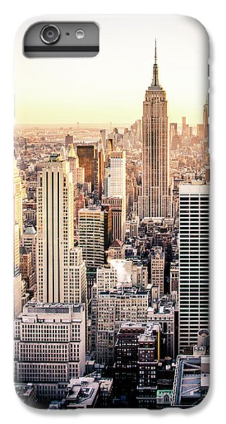 Empire State Building iPhone 6s Plus Case - Manhattan by Michael Weber