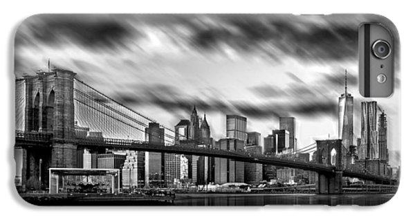 Brooklyn Bridge iPhone 6s Plus Case - Manhattan Moods by Az Jackson