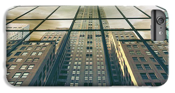 IPhone 6s Plus Case featuring the photograph Manhattan Reflected by Jessica Jenney