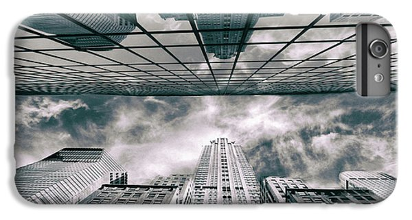 IPhone 6s Plus Case featuring the photograph Manhattan Reflections by Jessica Jenney