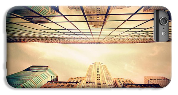 IPhone 6s Plus Case featuring the photograph Manhattan Skyline Reflections by Jessica Jenney