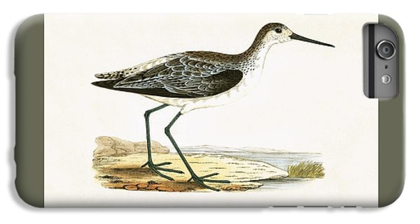 Sandpiper iPhone 6s Plus Case - Marsh Sandpiper by English School