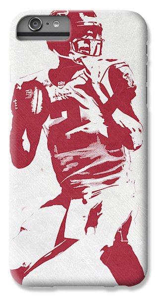 Matt Ryan Atlanta Falcons Pixel Art 2 IPhone 6s Plus Case by Joe Hamilton