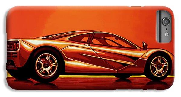 Car iPhone 6s Plus Case - Mclaren F1 1994 Painting by Paul Meijering