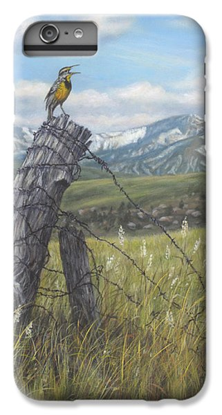 Meadowlark Serenade IPhone 6s Plus Case by Kim Lockman
