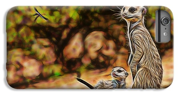 Meerkat IPhone 6s Plus Case by Marvin Blaine