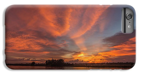 IPhone 6s Plus Case featuring the photograph Mekong Sunset 3 by Werner Padarin