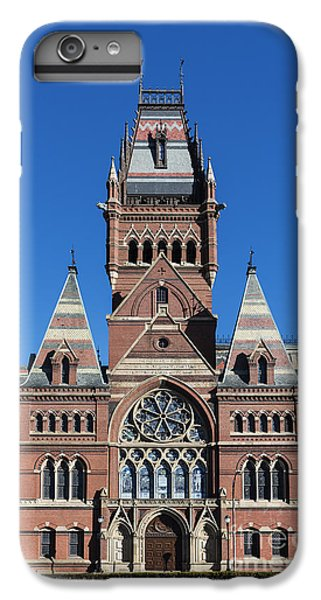 Harvard iPhone 6s Plus Case - Memorial Hall Harvard by John Greim