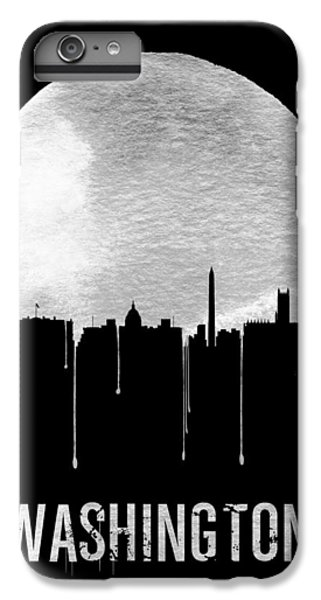 Memphis Skyline Black IPhone 6s Plus Case by Naxart Studio