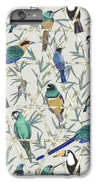 Menagerie IPhone 6s Plus Case by Jacqueline Colley