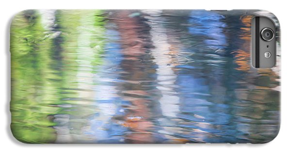 Yosemite National Park iPhone 6s Plus Case - Merced River Reflections 8 by Larry Marshall