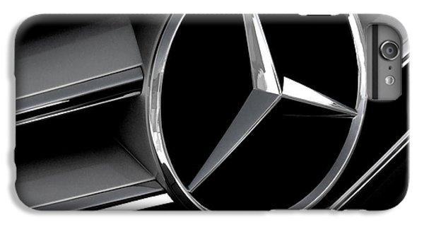 Car iPhone 6s Plus Case - Mercedes Badge by Douglas Pittman