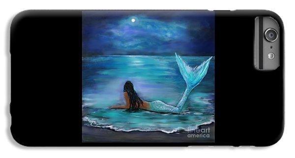 Mermaid Moon And Stars IPhone 6s Plus Case
