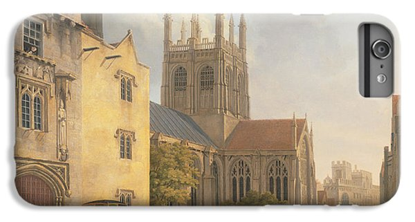 Town iPhone 6s Plus Case - Merton College - Oxford by Michael Rooker