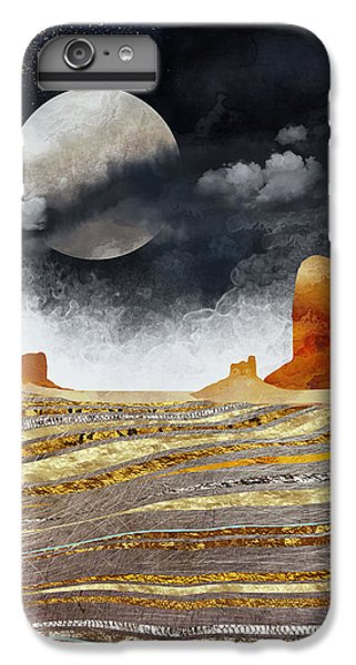 Landscapes iPhone 6s Plus Case - Metallic Desert by Spacefrog Designs