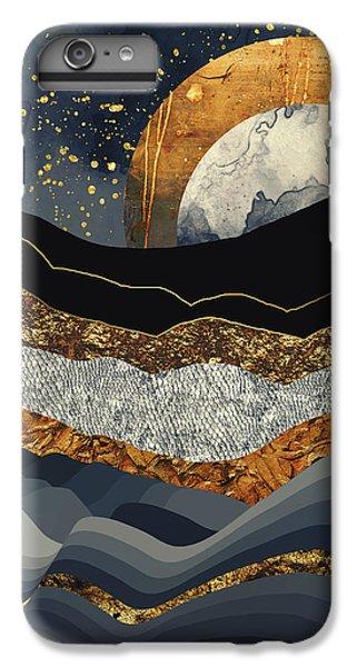 Landscapes iPhone 6s Plus Case - Metallic Mountains by Katherine Smit