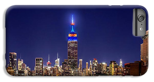 Empire State Building iPhone 6s Plus Case - Mets Dominance by Az Jackson