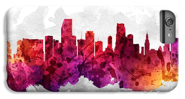 Miami Florida Cityscape 14 IPhone 6s Plus Case