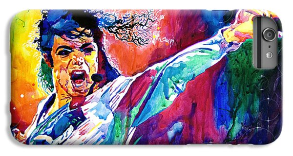 Michael Jackson Force IPhone 6s Plus Case by David Lloyd Glover