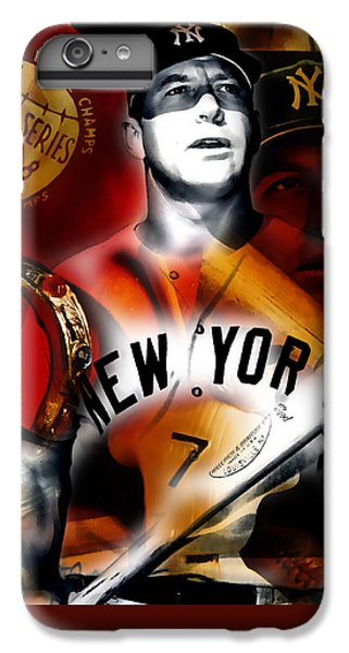 Mickey Mantle Collection IPhone 6s Plus Case