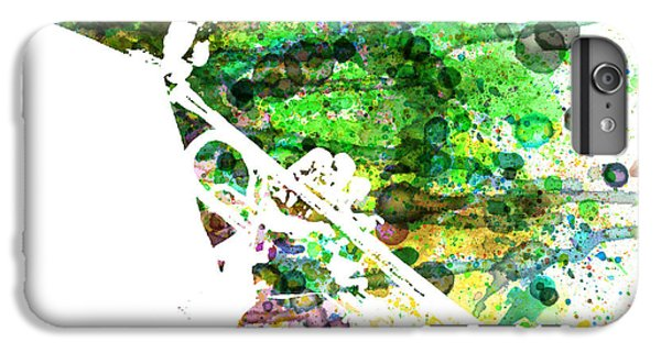 Saxophone iPhone 6s Plus Case - Miles Davis 2 by Naxart Studio