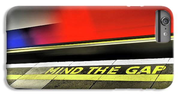 Mind The Gap IPhone 6s Plus Case by Rona Black