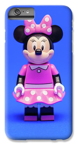 Mice iPhone 6s Plus Case - Minnie Mouse by Samuel Whitton