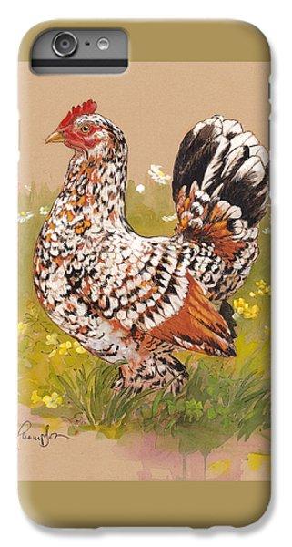 Chicken iPhone 6s Plus Case - Miss Millie Fleur by Tracie Thompson