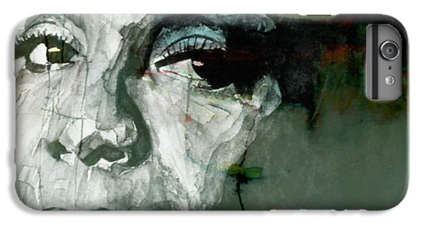 Rhythm And Blues iPhone 6s Plus Case - Mississippi Goddam by Paul Lovering