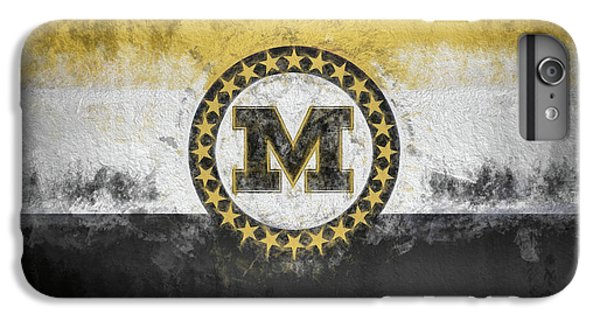 IPhone 6s Plus Case featuring the digital art Mizzou State Flag by JC Findley