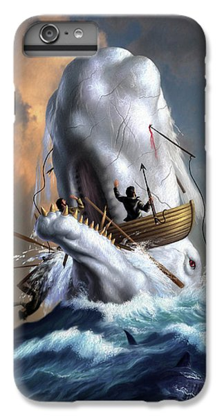 Sharks iPhone 6s Plus Case - Moby Dick 1 by Jerry LoFaro