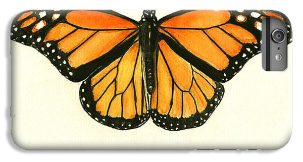 Monarch Butterfly IPhone 6s Plus Case by Juan Bosco
