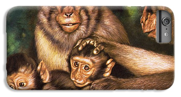Monkey Family IPhone 6s Plus Case
