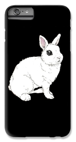 Monochrome Rabbit IPhone 6s Plus Case
