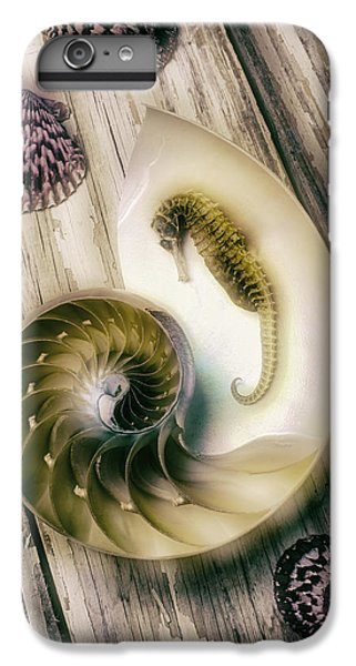 Moody Seahorse IPhone 6s Plus Case by Garry Gay