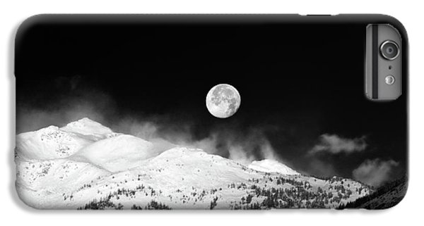 Moon Over The Alps IPhone 6s Plus Case by Silvia Ganora