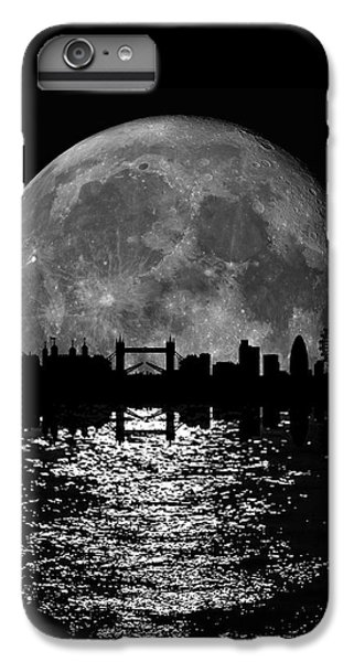 Moonlight London Skyline IPhone 6s Plus Case by Mark Rogan