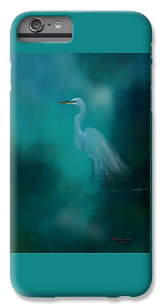 Egret iPhone 6s Plus Case - Moonlight Serenade by Marvin Spates