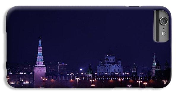 Moscow Skyline iPhone 6s Plus Case - Moscow Kremlin by Margarita Buslaeva
