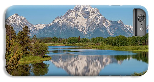 Mountain iPhone 6s Plus Case - Mount Moran On Snake River Landscape by Brian Harig