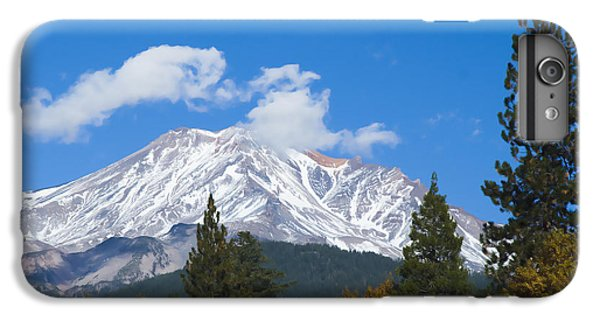 IPhone 6s Plus Case featuring the photograph Mount Shasta California by Yulia Kazansky