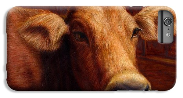 Cow iPhone 6s Plus Case - Mrs. O'leary's Cow by James W Johnson