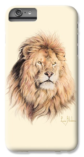 Mufasa IPhone 6s Plus Case by Lucie Bilodeau