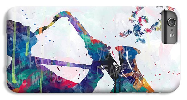 Saxophone iPhone 6s Plus Case - Music  by Mark Ashkenazi